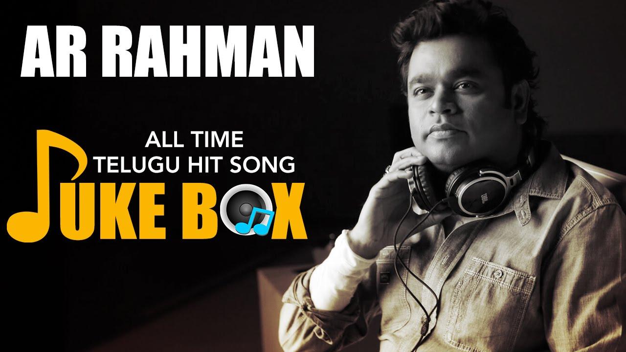Musically a. R. Rahman telugu all songs download or listen.