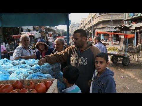 Gaza's economy pays a price for Israeli bombardment