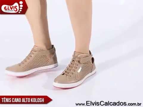 1147e8cdc Tênis Feminino Kolosh C0642 Trigo - YouTube