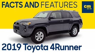 2019 Toyota 4Runner SR5 Premium Key Facts + Features