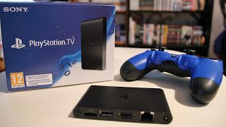 PLAYSTATION TV - UNBOXING & TEST!