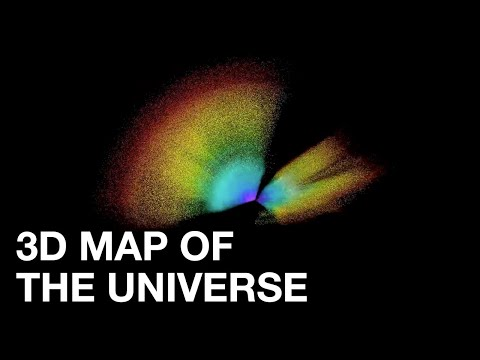 SDSS releases largest 3D map of the universe ever created
