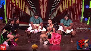 Manjula Performance Promo - DHEE 13 - Kings vs Queens Latest Promo - 20th January 2021 - #Dhee13