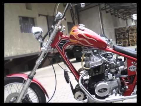 ame cb 450 honda chopper by 750heinze1