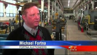 Hershey Factory Auction news clip with abc27 WHTM Mark Hall