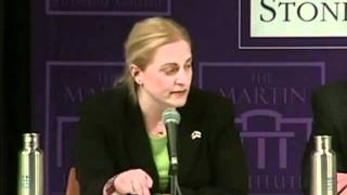 Marisa DeFranco At Stonehill College Debate for Democratic U.S. Senate candidates - December 6, 2011