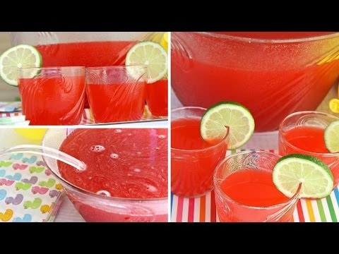 Simple Party Fruit Punch Recipe! Quick & Easy!