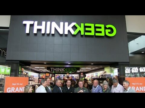 First ever ThinkGeek store opens in Orlando Florida #IRL