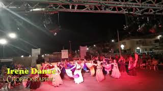 Arabo SHIRAZ coreo Irene Dance balli di gruppo choreographic Ventagli estate 2019