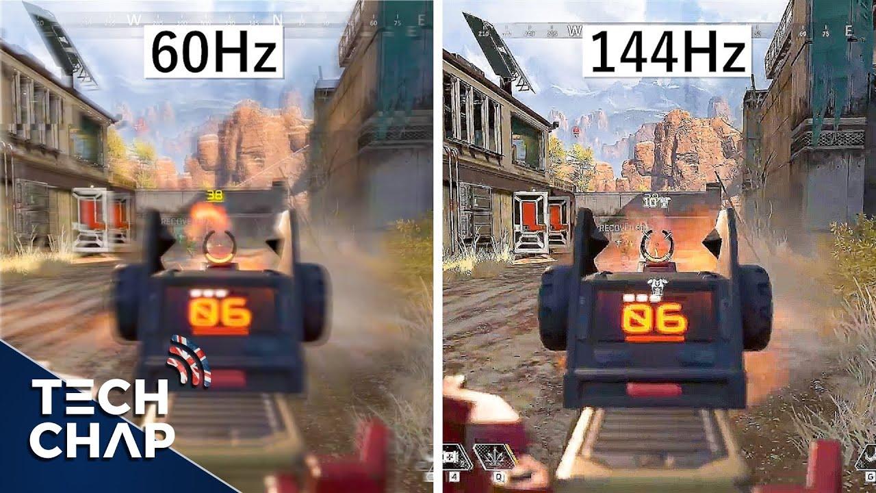 60hz vs 144hz vs 240hz Monitors - Which Is The Best