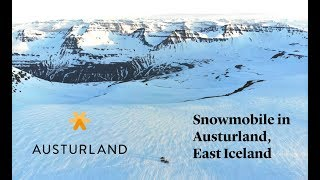 On Snowmobile In Incredible Landscape In Austurland, East Iceland