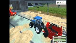 FARMING SIMULATOR 2013 Nourrir le Bétail