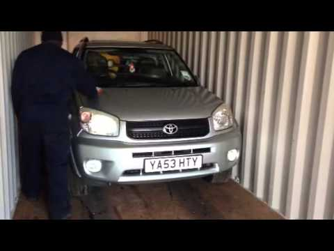 Shipping Toyota rav4 to congo Kinshasa