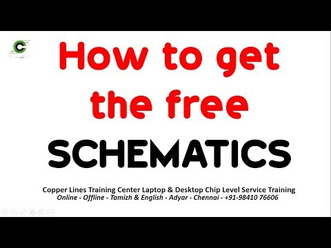 LAPTOP CHIP LEVEL REPAIR TRAINING  How To Download The Free Schematics