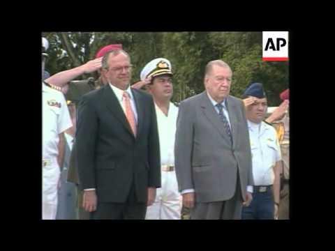 FILE Former Venezuelan President Rafael Caldera, dies at 93