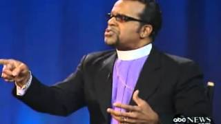 Nightline face off - Does satan exist? with Deepak Chopra Carlton Pearson Mark Driscoll 7 of 10