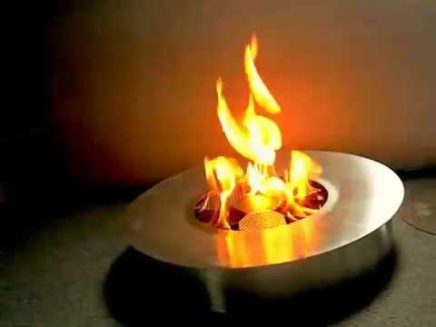 Smokeless Ethanol Fire Pit - Smokeless Ethanol Fire Pit - YouTube