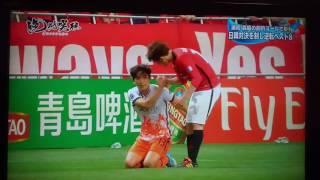 ACL 浦和 vs 済州  乱闘(Urawa Red Diamonds (JPN) vs Jeju United FC (KOR))