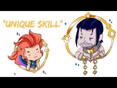 """Unique Skill"" - League of Legends Comic Dub thumbnail"