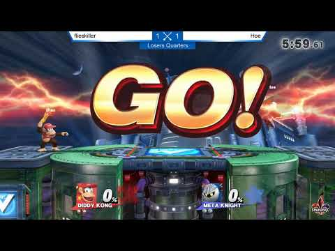 LQ - Flieskiller [Diddy Kong] vs. Hoe [Meta Knight] - Smash ULtime 4