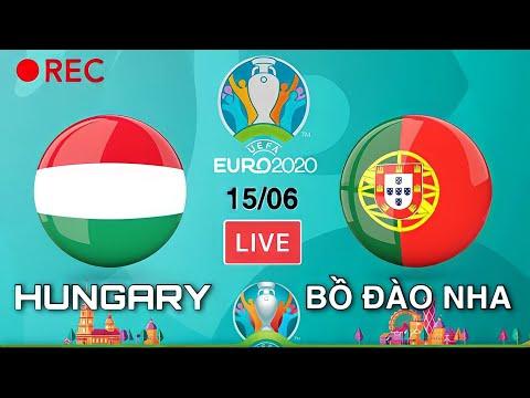 🔴 VTV3 TRỰC TIẾP: HUNGARY - BỒ ĐÀO NHA | VCK EURO 2020 Bảng F