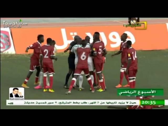 الأسبوع الرياضي على الموريتانية ـ تأهل المرابطون إلى الدور الثاني من التصفيات المؤهلة لكأس العالم.