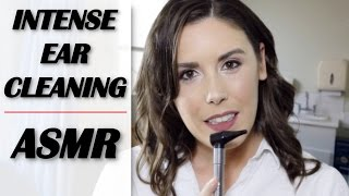 ASMR *Intense* Ear Cleaning Role Play (Binaural Personal Att...