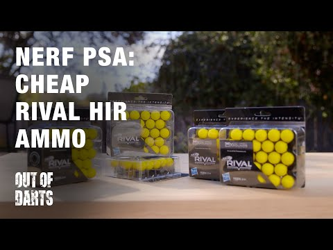PSA: Cheap Nerf Rival ammo! BONUS WEEKEND POST