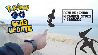 Pokemon GO Gen 3 & Dynamic Weather