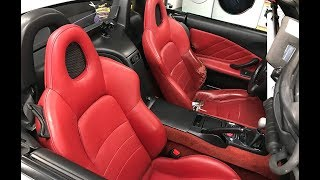 KG S2000 | Cleaning Leather Seats