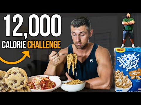 12000 Calorie World&39;s Strongest Man Diet Challenge  Brian Shaw Day Of Eating