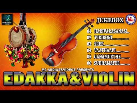 Edakka & Violin | Lovely Instrumental Music | Classical Instrumental Music