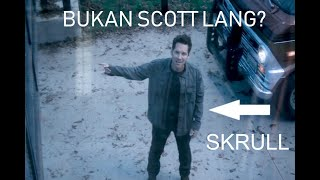 Ant-man dalam Trailer Avengers End Game bukan Scott Lang? Film Theory Ant-man is a Skrull