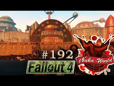 Fallout 4 Nuka-World (PS4) Прохождение #192: Галактика и кинотеатр Звездный свет
