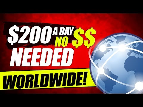 🔥Earn $200 a Day Online Free Simply Copy and Pasting Links - WORLDWIDE! (Make Money Online 2020)