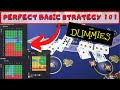 BlackJack Basic Strategy 101 pt 1 - BASIC STRATEGY FOR DUMMIES