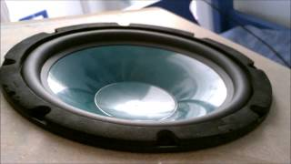 Bass I Love You on 200 Watts Car Subwoofer - BIG EXCURSION!