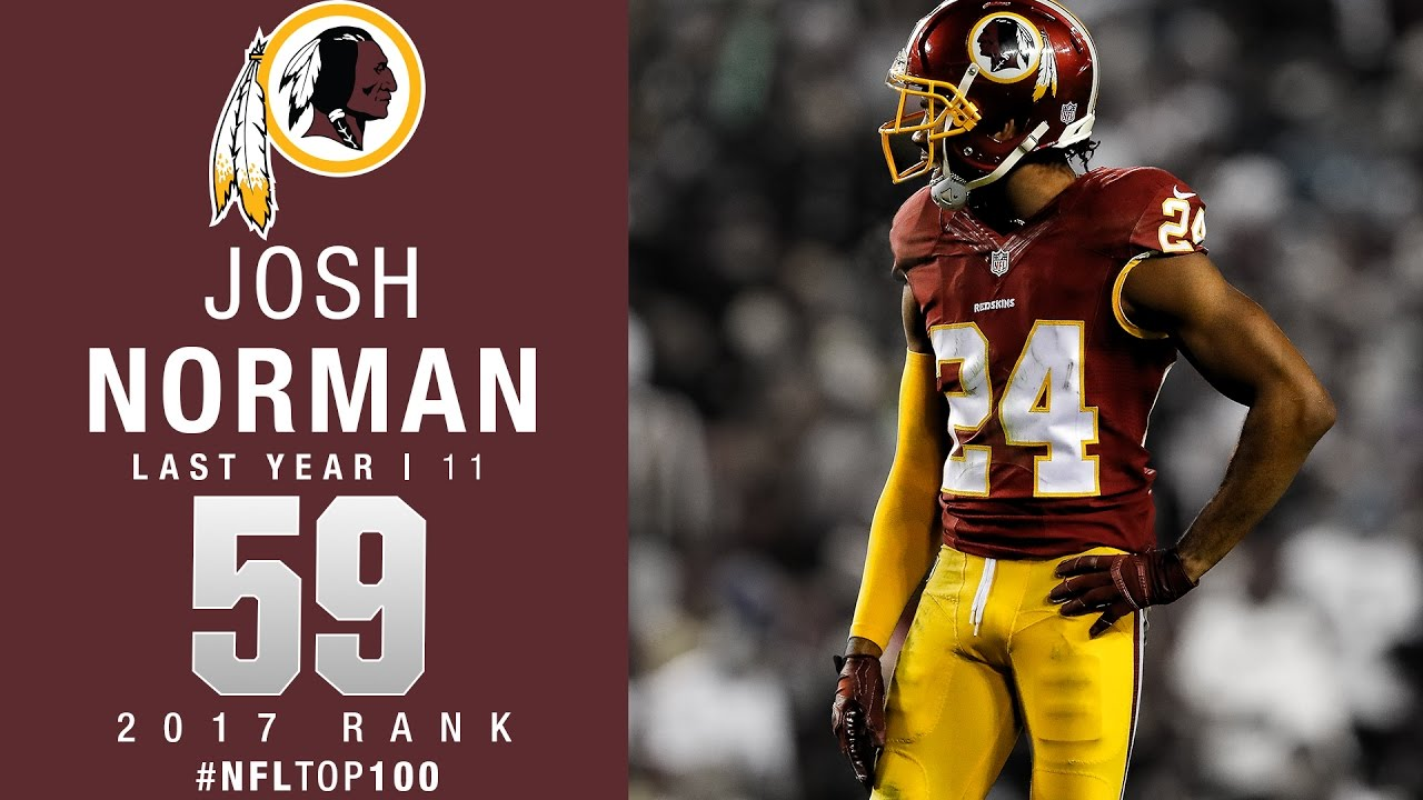 59 Josh Norman CB Redskins Top 100 Players of 2017