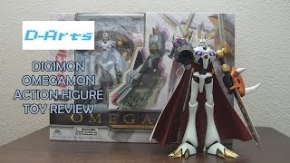 SMELLS LIKE NEW! - D-Arts - Digimon - Omegamon (Omnimon) Action Figure Toy Review