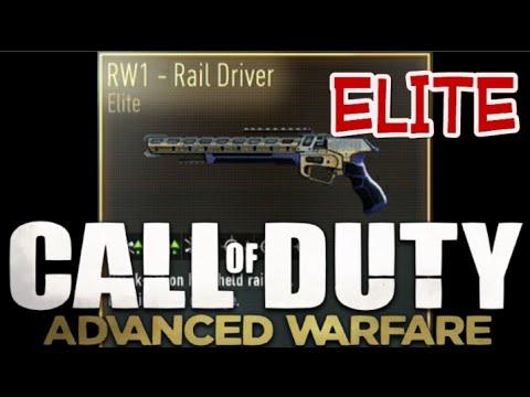 Cod Advanced Warfare Rw1 Rail Driver Elite Play