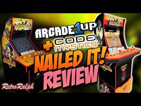 """Arcade1up GoldenAxe """"REVIEW"""" - BACK IN STOCK - Is this Cabinet the Best?!? from Retro Ralph"""