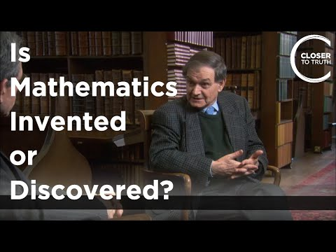 Roger Penrose - Is Mathematics Invented or Discovered?