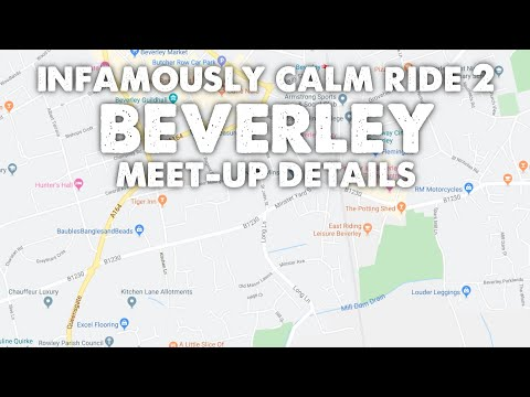 Infamously Calm Ride 2 - Beverley Meet Up Details