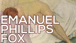 Emanuel Phillips Fox: A collection of 76 paintings (HD)