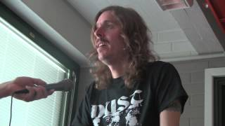 Opeth Interview Sauna Open Air 2013