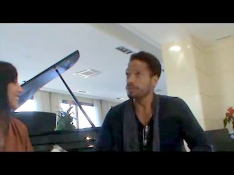 Gary Dourdan - interview in Rome: Mother tongue