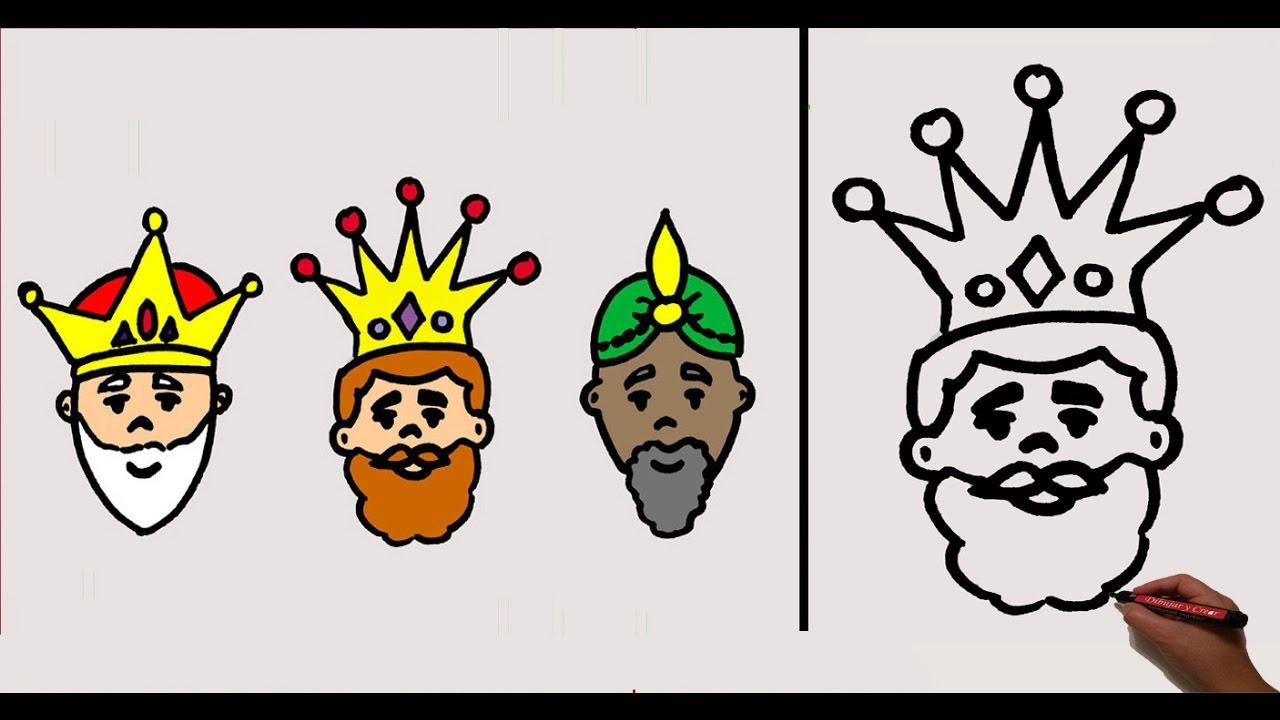 Dibujando Al Mago Eléctrico: Como Dibujar Un Rey Mago Drawing Pictures T Drawings