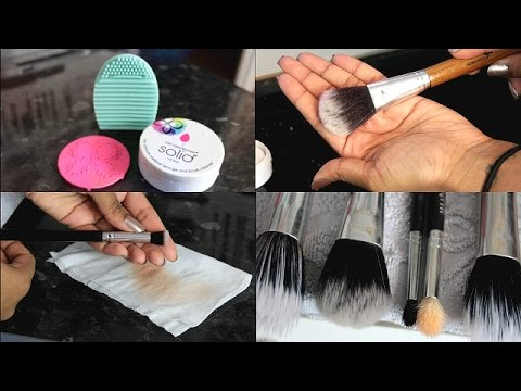 How to Wash and Spot Clean Your Makeup...