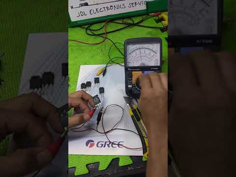How To Check Good Parts And Defective Parts Of Aircon Board.