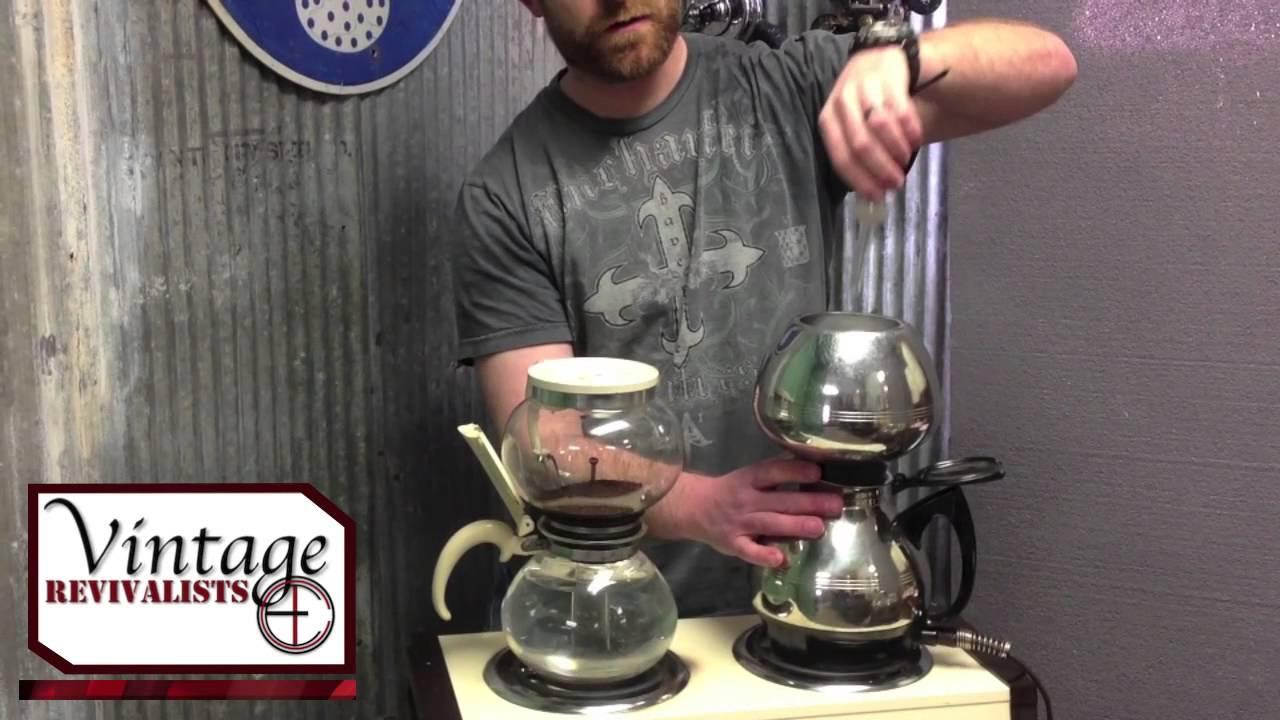 The Vintage Revivalists Ep1 Vintage Vacuum Coffee Makers